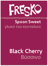 Fresko Black Cherry Spoon Sweet