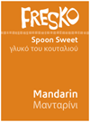 Fresko Mandarin Spoon Sweet