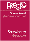 Fresko Strawberry Spoon Sweet